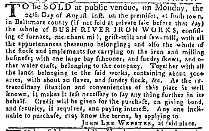 Aug 20 - Pennsylvania Gazette Slavery 4