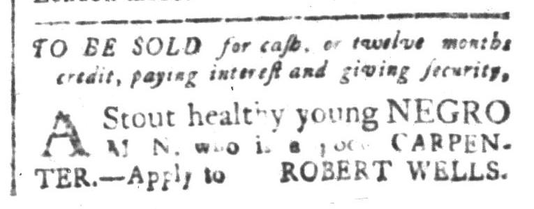 Aug 21 - South-Carolina and American General Gazette Slavery 8