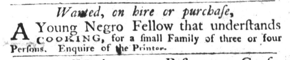 Aug 25 - South-Carolina Gazette and Country Journal Slavery 2