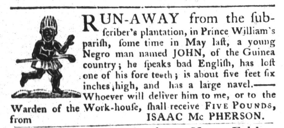 Aug 25 - South-Carolina Gazette and Country Journal Slavery 6