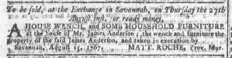Aug 26 - Georgia Gazette Slavery 4