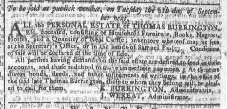 Aug 26 - Georgia Gazette Slavery 7