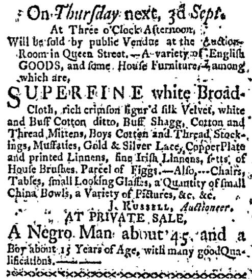 Aug 31 - Boston-Gazette Slavery 3