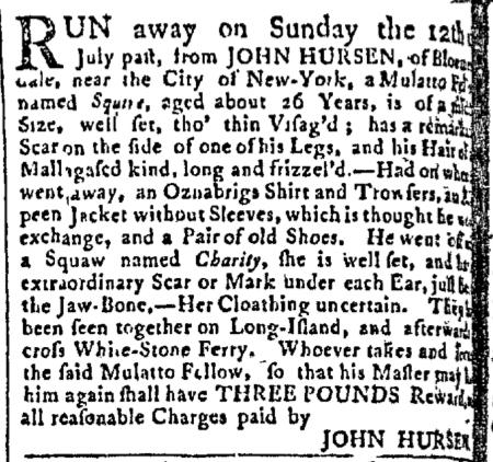 Aug 31 - New-York Gazette Slavery 1