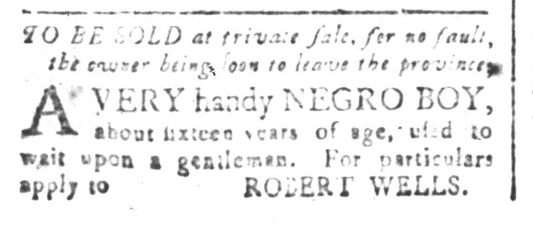 Aug 7 - South-Carolina and American General Gazette Slavery 2