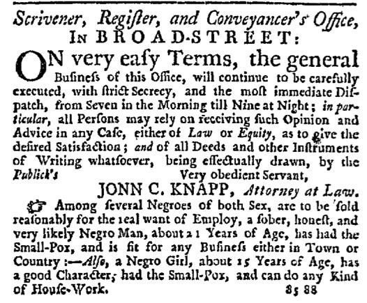 Sep 10 - New-York Journal Supplement Slavery 3