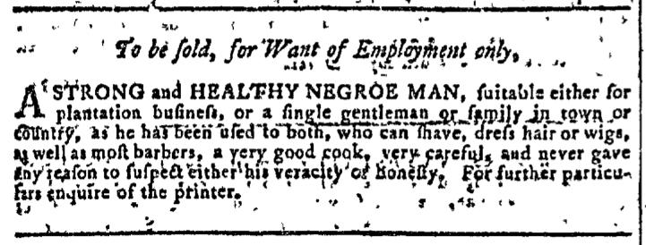 Sep 16 - Georgia Gazette Slavery 2