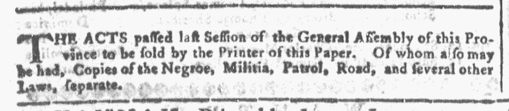 Sep 16 - Georgia Gazette Slavery 5
