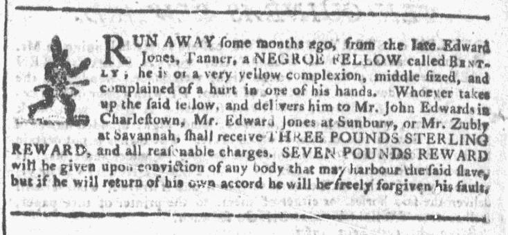 Sep 16 - Georgia Gazette Slavery 6