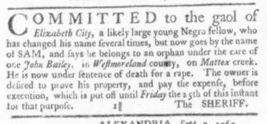 Sep 17 - Virginia Gazette Slavery 2