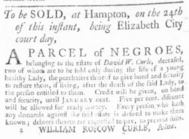 Sep 17 - Virginia Gazette Slavery 4