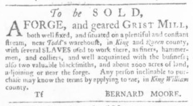 Sep 17 - Virginia Gazette Slavery 5
