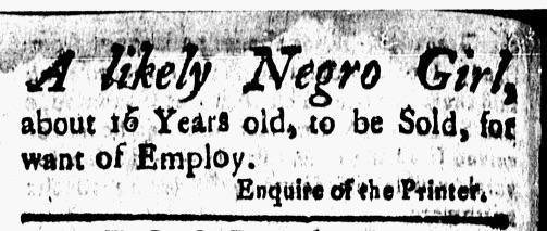 Sep 18 - New-London Gazette Slavery 2