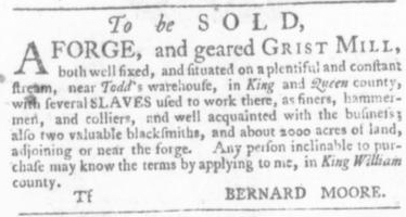 Sep 24 - Virginia Gazette Slavery 7
