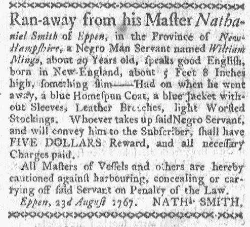 Sep 7 - Boston-Gazette Slavery 1