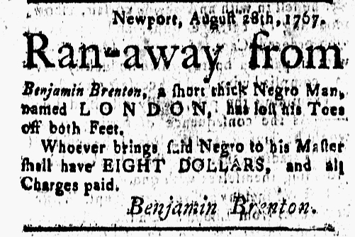 Oct 2 - New-London Gazette Slavery 2