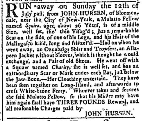 Oct 5 - New-York Gazette Slavery 1