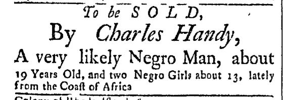 Oct 5 - Newport Mercury Slavery 1