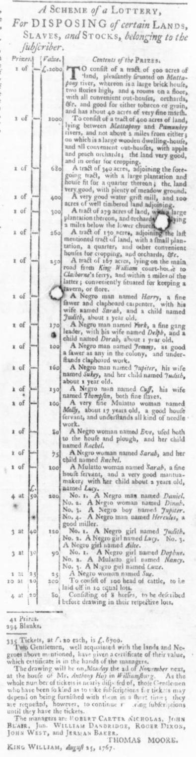 Oct 8 - Virginia Gazette Slavery 9
