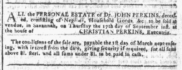 Sep 16 - Georgia Gazette Slavery 9