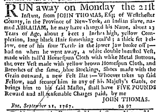 Nov 12 - New-York Journal Supplement Slavery 1