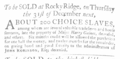 Nov 12 - Virginia Gazette Slavery 2