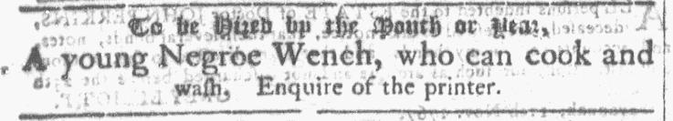 Nov 18 - Georgia Gazette Slavery 1