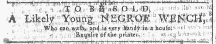 Nov 18 - Georgia Gazette Slavery 3