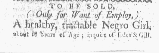 Nov 2 - Boston-Gazette Slavery 1