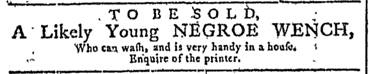 Nov 4 - Georgia Gazette Slavery 5