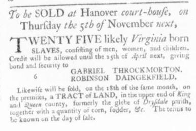 Oct 15 - Virginia Gazette Slavery 8