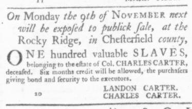 Oct 15 - Virginia Gazette Slavery 9