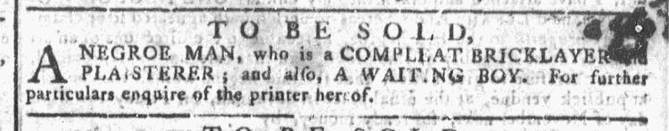 Oct 21 - Georgia Gazette Slavery 10