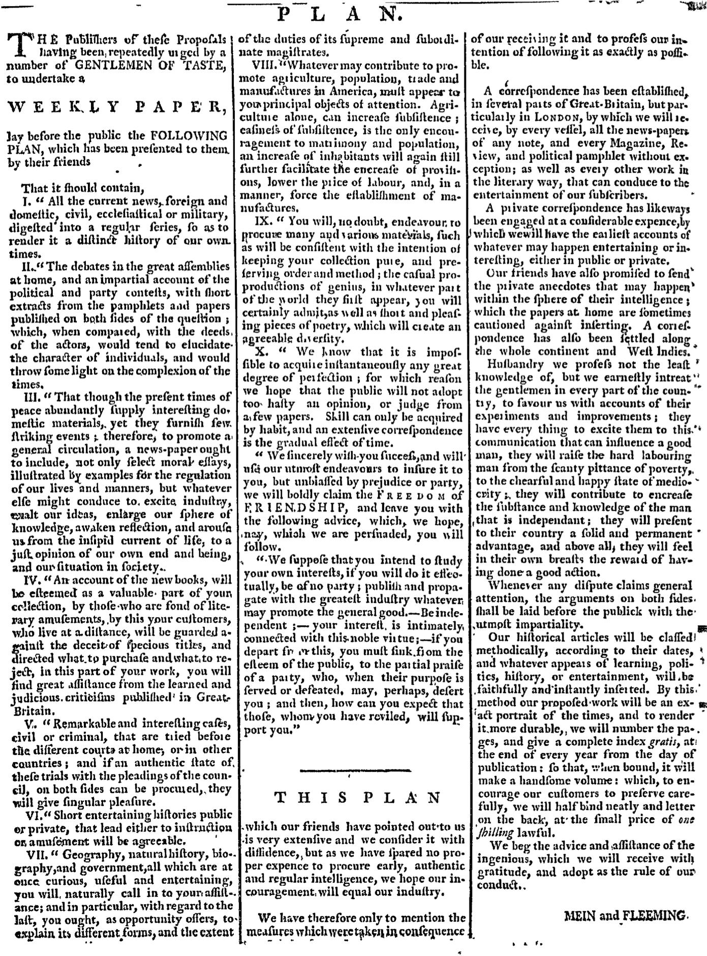 Oct 22 - 10:22:1767 Page 2 Boston Chronicle