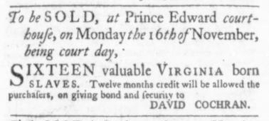 Oct 22 - Virginia Gazette Slavery 4
