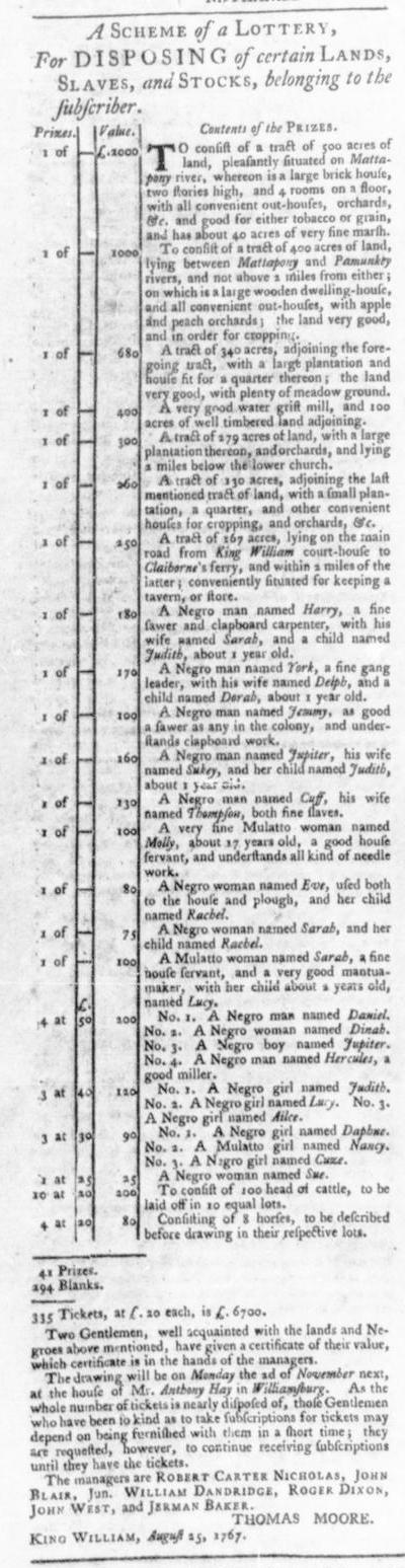 Oct 22 - Virginia Gazette Slavery 8