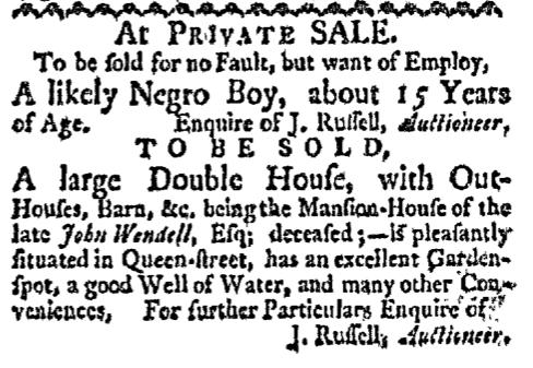 Oct 26 - Boston-Gazette Slavery 1