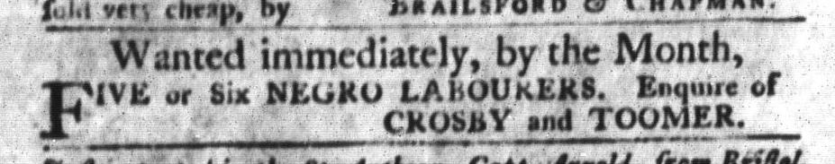 Oct 27 - South-Carolina Gazette and Country Journal Slavery 4