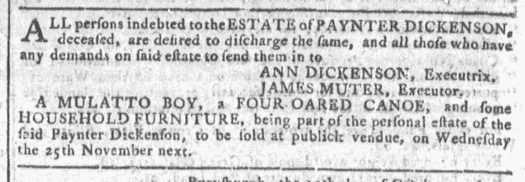 Oct 28 - Georgia Gazette Slavery 8