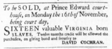 Oct 29 - Virginia Gazette Slavery 6