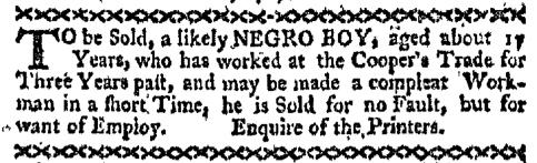 Dec 21 - Boston-Gazette Slavery 3