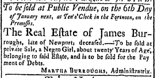 Dec 21 - Newport Mercury Slavery 2