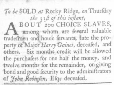 Dec 24 - Virginia Gazette P&D Slavery 2
