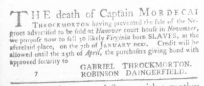 Dec 3 - Virginia Gazette Slavery 4