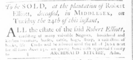 Nov 19 - Virginia Gazette Slavery 6