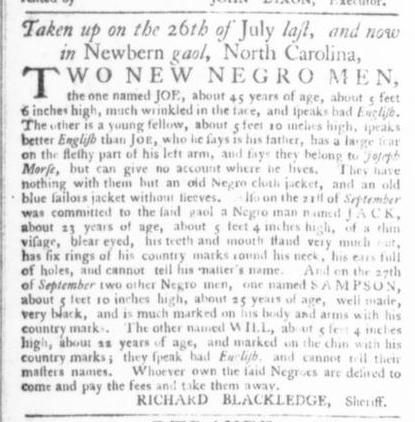 Nov 19 - Virginia Gazette Slavery 8