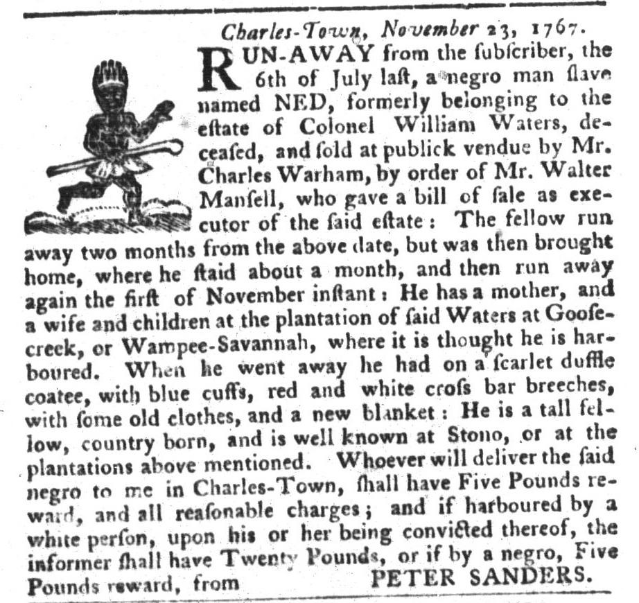 Nov 24 - 11:24:1767 South-Carolina Gazette and Country Journal
