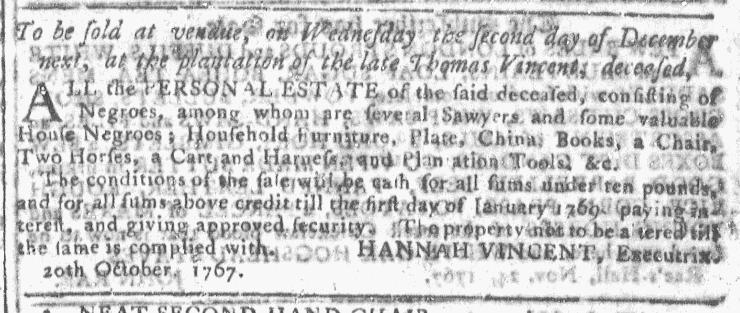 Nov 25 - Georgia Gazette Slavery 8
