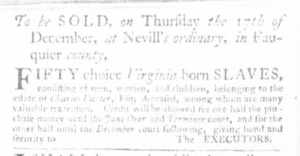 Nov 26 - Virginia Gazette Slavery 5