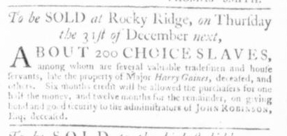 Nov 26 - Virginia Gazette Slavery 7